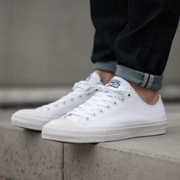 converse all star 2 all white